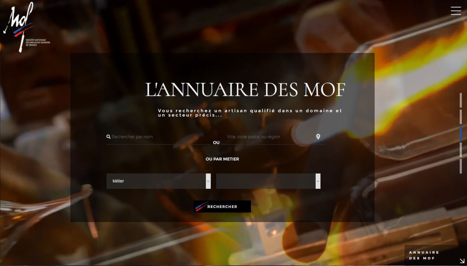 Capture slide 3 Site MOF - Agence Celuga