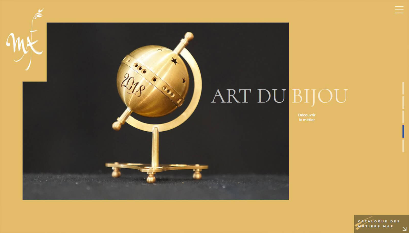 Capture slide 4 Site MOF - Agence Celuga