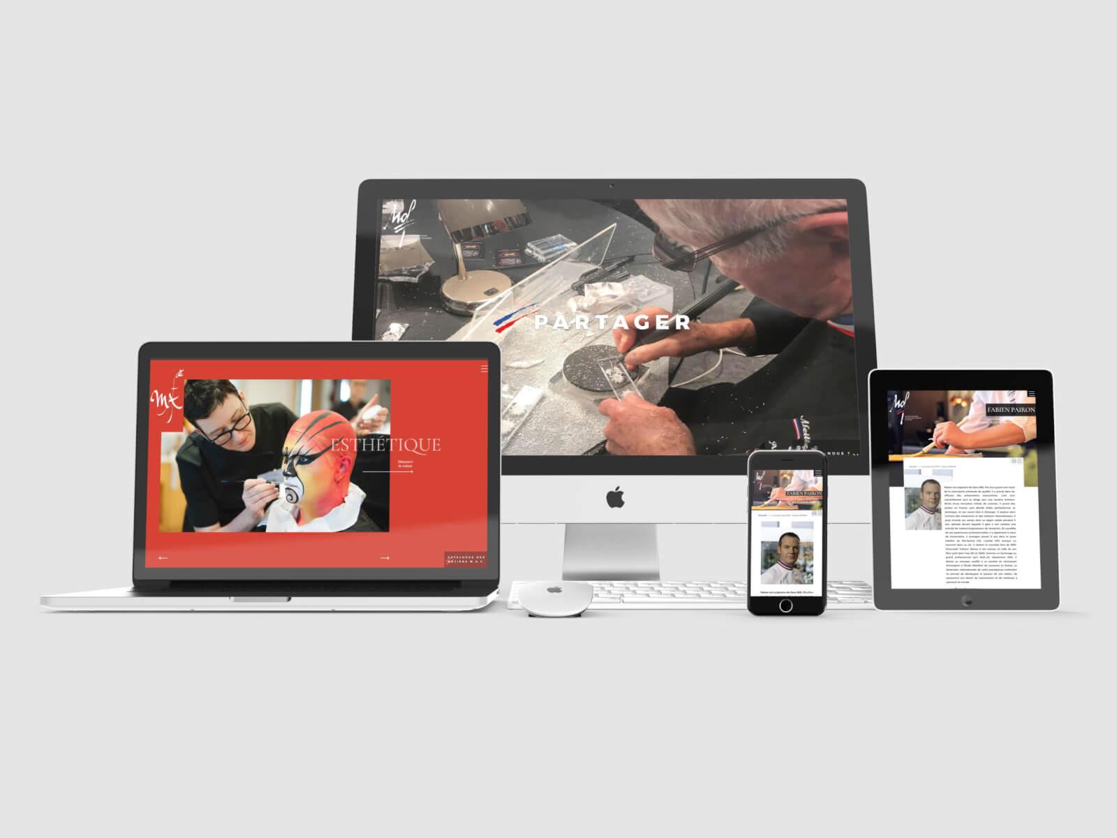 Présentation Site MOF - Agence Celuga