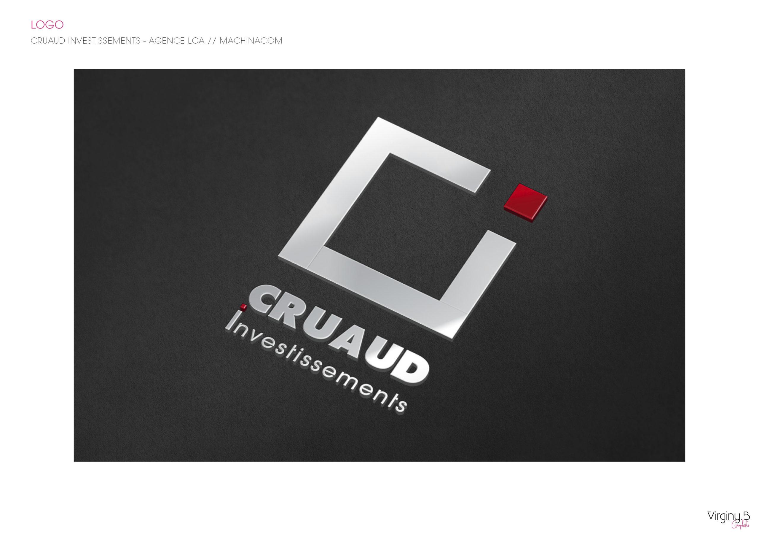 Création du logo pour Cruaud Investissements LA BAULE
