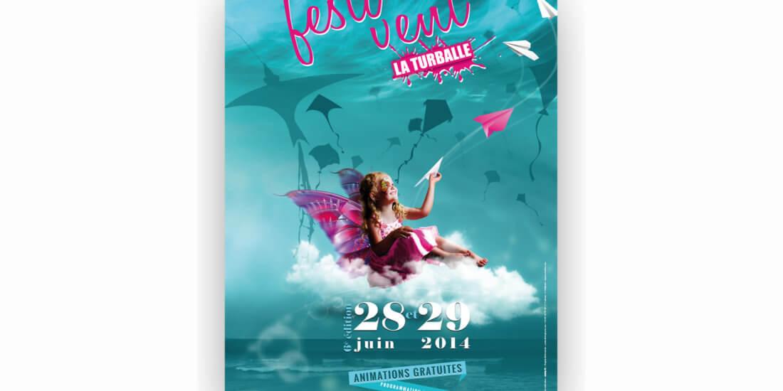 Affiche Festi'vent La Turballe