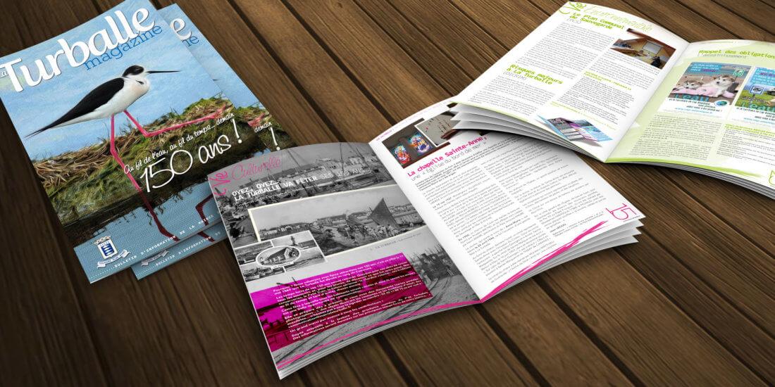 Magazine municipal pour les 150 ans de La Turballe