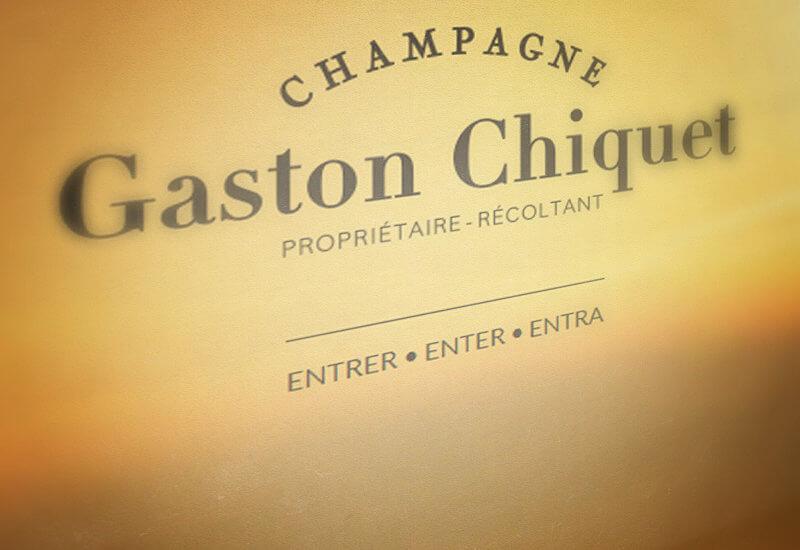 Champagne Gaston Chiquet - Agence Celuga