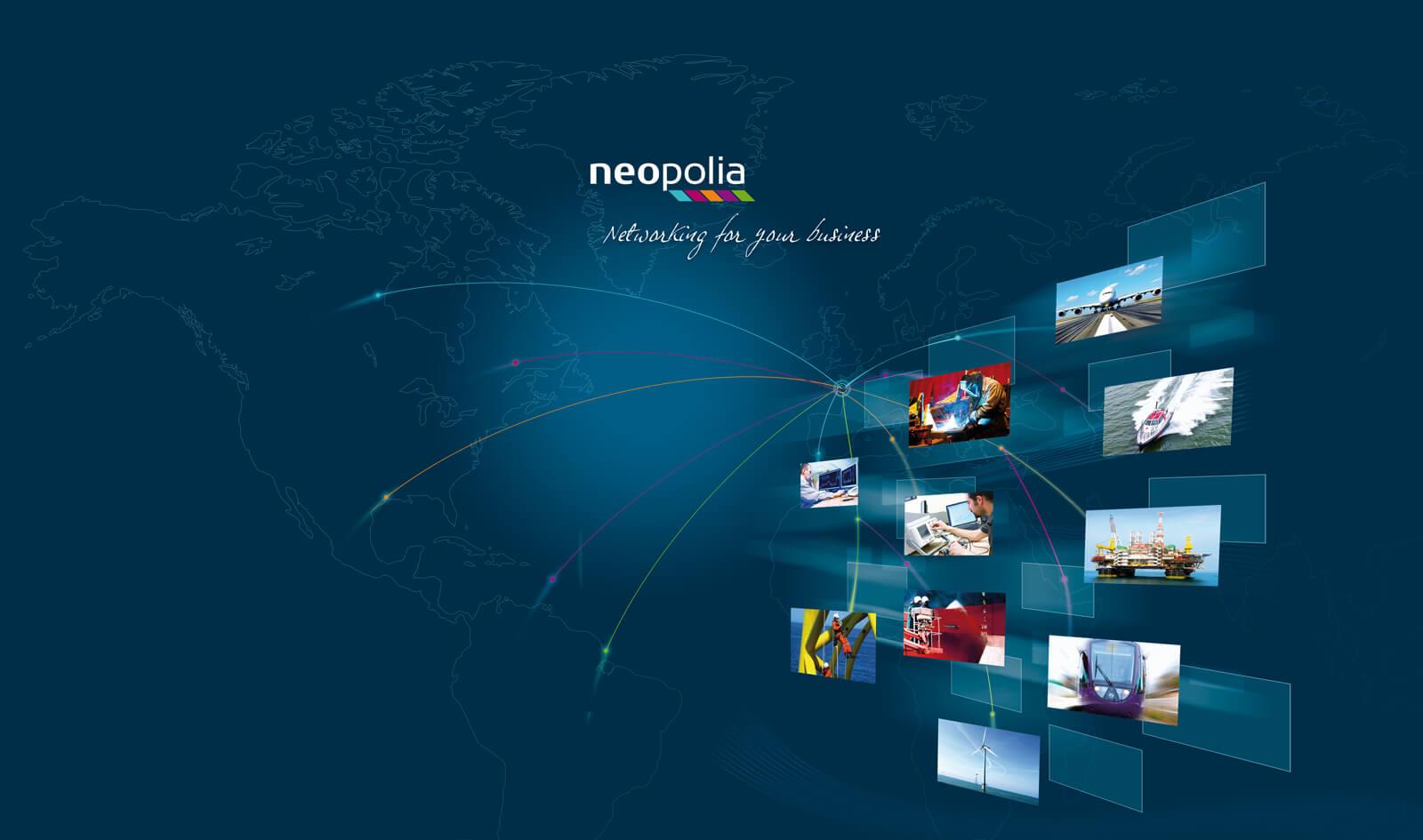 Création du visuel identitaire groupe Neopolia