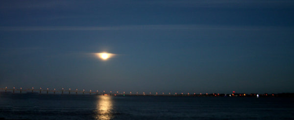 Photo Full Moon sur Saint-nazaire - Virginy-B