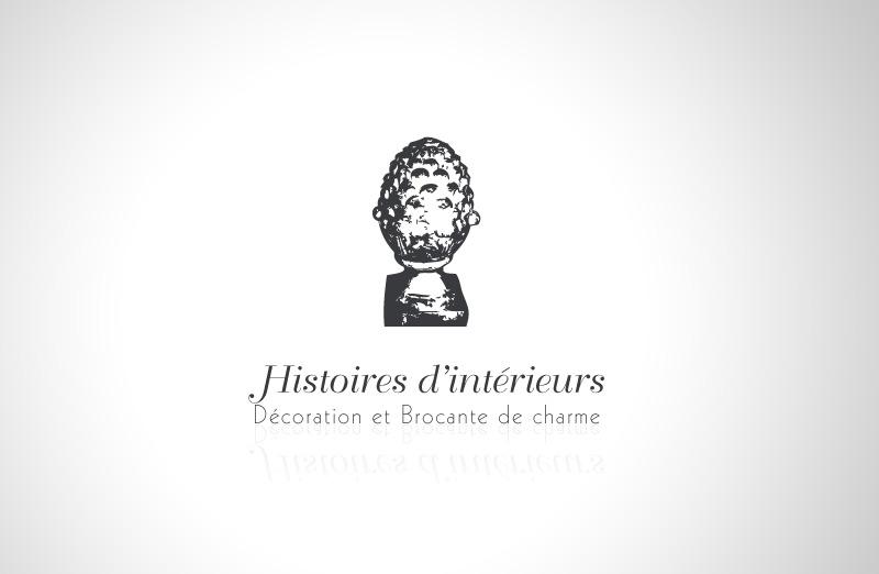 Logo et identité visuelle d' Histoires d'intérieurs