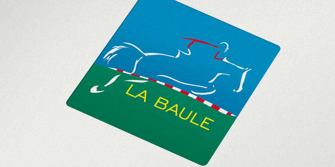 Refonte du logo Jumping international LA BAULE