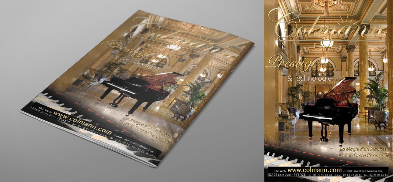 Dernière de couverture Magazine PIANISTE