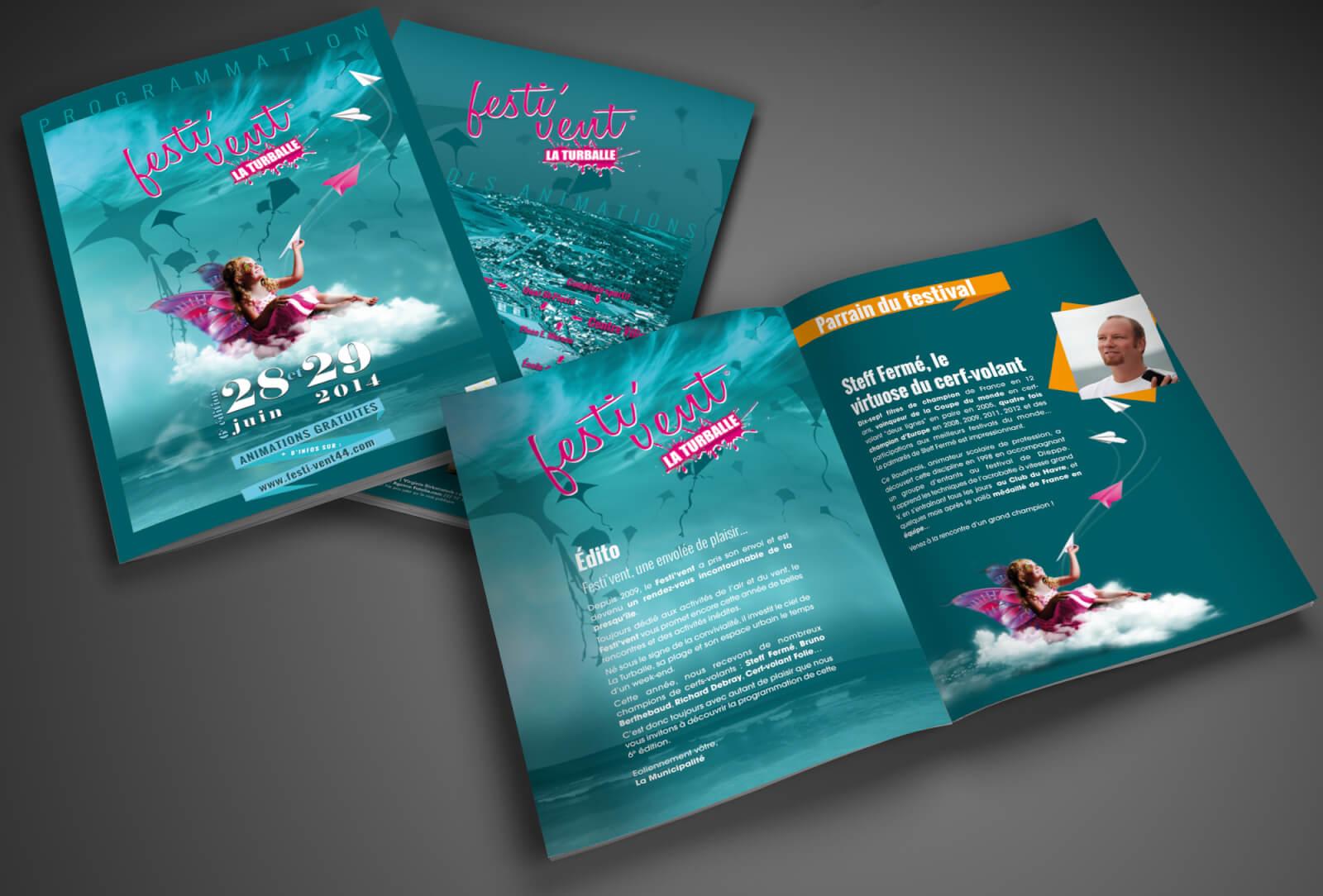 Brochure Festi'vent La Turballe