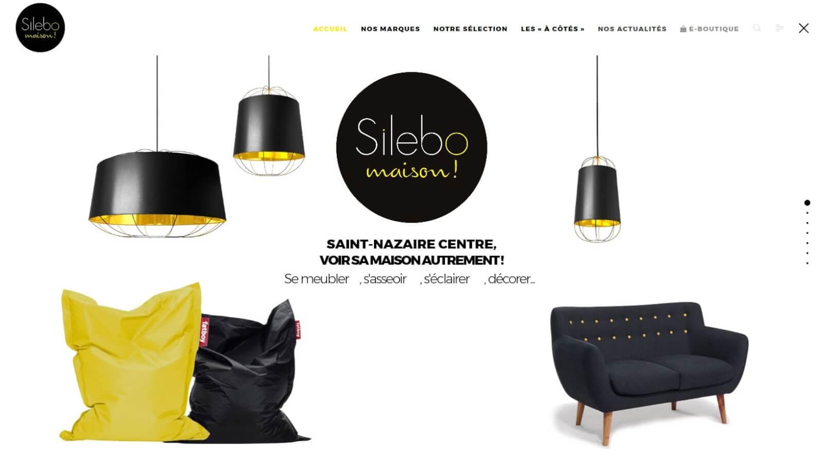 Screen slide 1 accueil site Silebo
