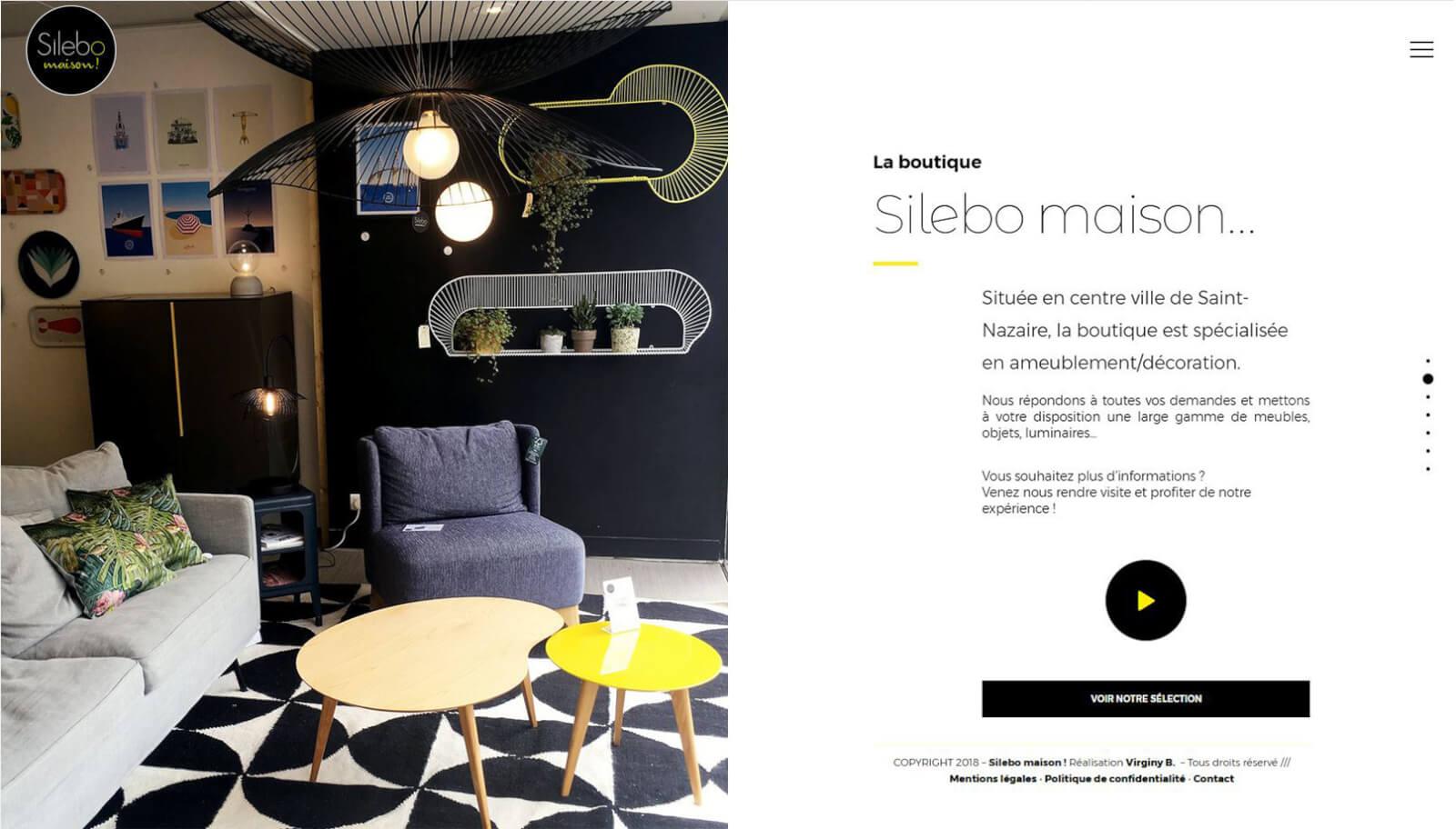 Screen slide 2 accueil site Silebo